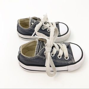 Converse Toddler Chuck Taylor Blue Shoes, size 4